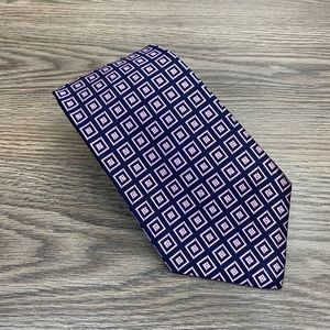 Brooks Brothers Navy w/ Lavender Check Tie